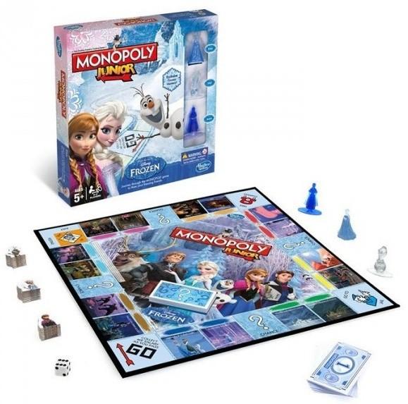 Настольная игра: Монополия JUNIOR  «Холодное сердце»
